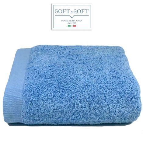 STAR 600 telo bagno spugna 600 gr/m²-Azzurro
