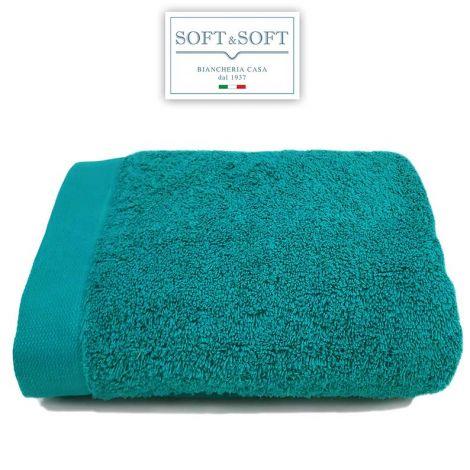 STAR 600 telo bagno spugna 600 gr/m²-Smeraldo