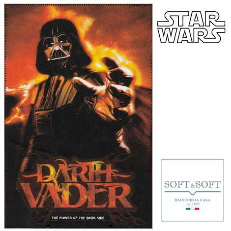 Star Wars Darth Vader plaid fleece child's blanket 100x150 cm