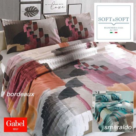 Stories complete duvet cover for double bed by GABEL - Made in Italy