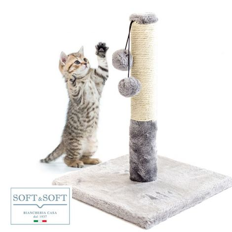 tiragraffi per unghie gatti in sisal