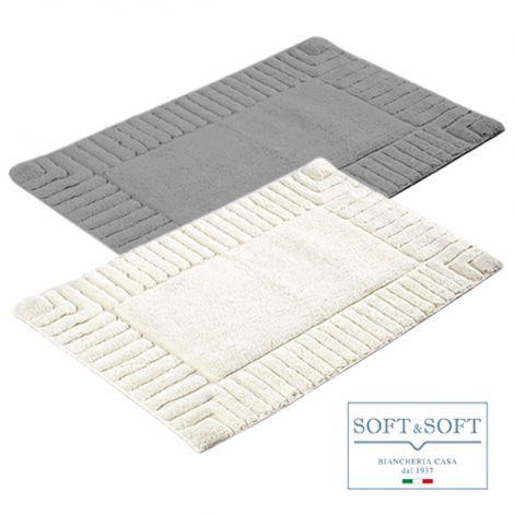 VERSU tappeto moderno cm 50x80 puro Cotone
