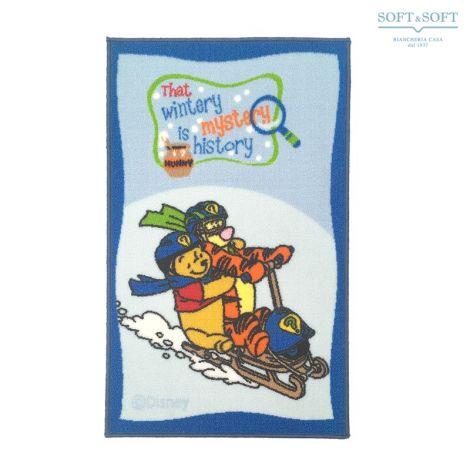 WINNIE the Pooh winter tappeto Disney 50x80 cameretta