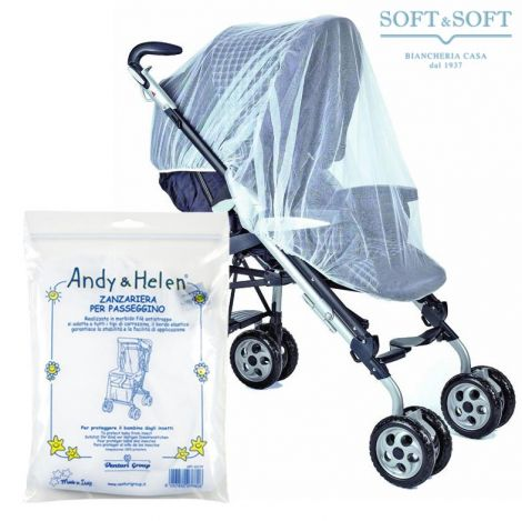 Mosquito Net for Cradle Stroller or Baby Carriage Andy & Elen