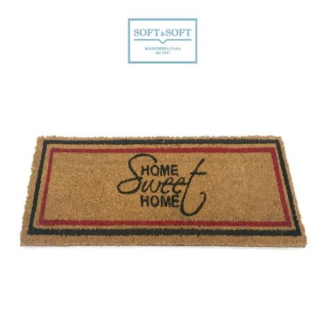 DOOR MAT Welcome Home Gum and Coir for starirs cm 70x25