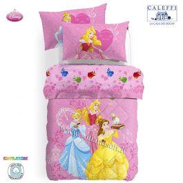 Lenzuola Letto Singolo Disney.Vendita Online Princess Gioia Trapunta Letto Singolo Principesse