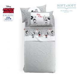 cba48d573d SoftandSoft.it: Lenzuola Mickey Mouse Letto Singolo Disney CALEFFI vendita  on line