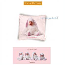 Vendita Online Anne Geddes Pink Bunnies Cuscino Cm 40x40 Softandsoft It Soft Soft