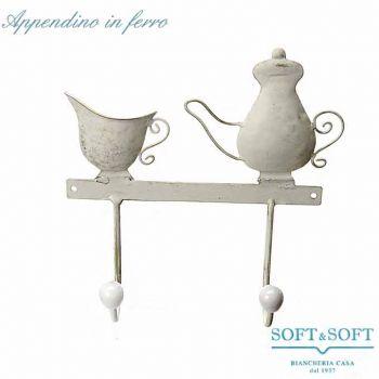 Teapot metal hanger cm 23x7x24
