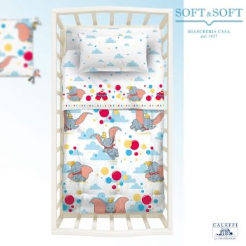 BABY DUMBO Winter Quilt for cots Disney by Caleffi