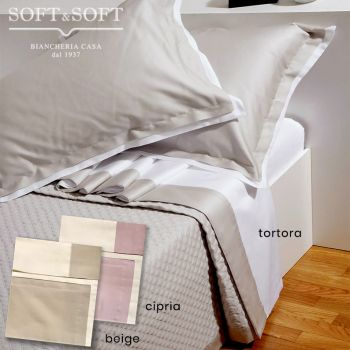 CHANEL Satin Sheet Set for Double Bed Cotton Satin