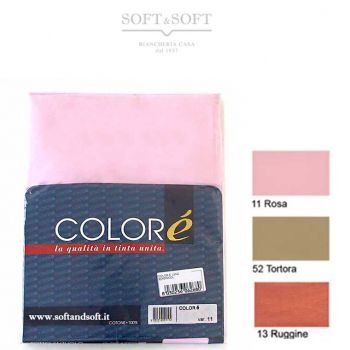 Solid Flat Sheet for three quarter beds - Colorè