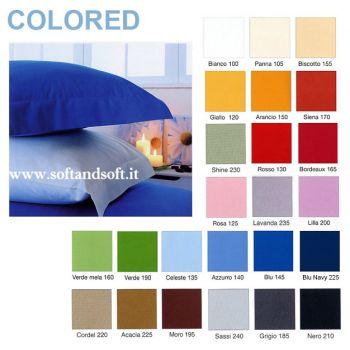 federe da cuscino sfuse colorate tinta unita