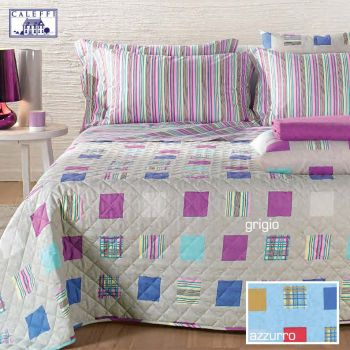 DAKAR CALEFFI SPRING Quilted Bedcover for Double beds