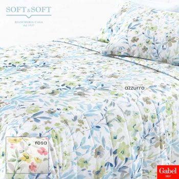 DOLCE VITA Spring Quilted Bedcover DOUBLE BED Size GABEL