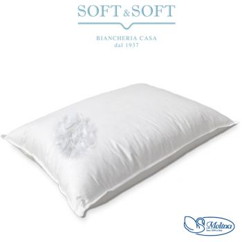 cuscino da letto in piuma piumino d'oca lusso alta qualità