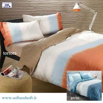 LIVING Parure Duvet Cover Set for single beds Caleffi