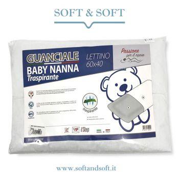 BABY NANNA cuscino guanciale cm 40x60 lettino neonato