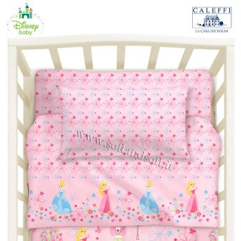 PETIT PRINCESS Sheet Set for Cots Disney
