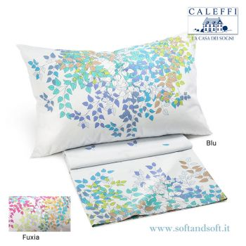GREEN  Printed Sheet set for double bed by CALEFFI