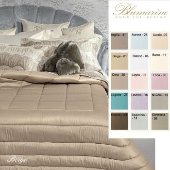 BLUMARINE LORY Duvet for Double beds Pure cotton Satin