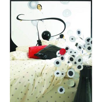 BASIC LOGO - LAURA BIAGIOTTI  Duvet cover for Double beds