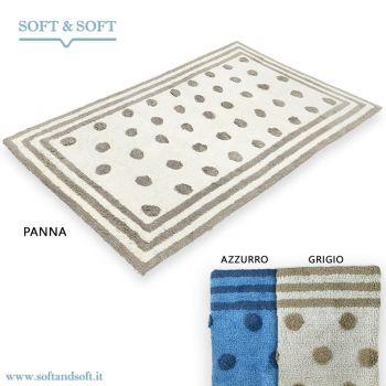 ELLIE Tappeto bagno cm 60x110 puro cotone