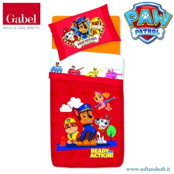 PAW PATROL SPEED duvet cover for single bed by Gabel