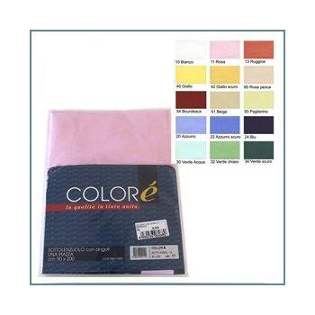 Solid Flat Sheet for three quarter beds - Colorè 48809