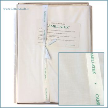 PURE LINEN Fabric 4500 for sheet  270x400 cm by Camillatex