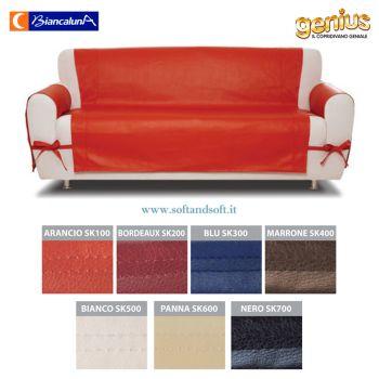 Genius SKIN Three-place Sofa Cover - Biancaluna of Eco-friendly
