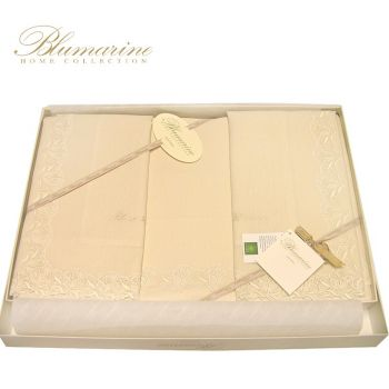 BLUMARINE Ilaria Pure Linen Sheets for double beds
