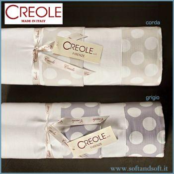 Rotolino BUBBLE Parure lenzuola letto Matrimoniale Percalle di Puro Cotone