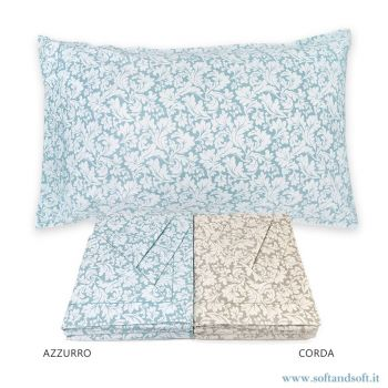 FLORA Pure Cotton Sheet Set for Double Bed by CREOLE