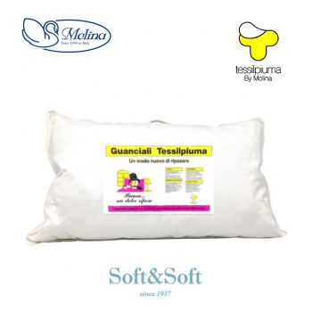 NUVOLA PILLOW Stuffed with soft down by MOLINA
