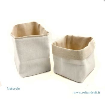 Bread basket pure cotton Natural