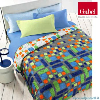 ATELIER Quilted bedcover for double bed Gabel