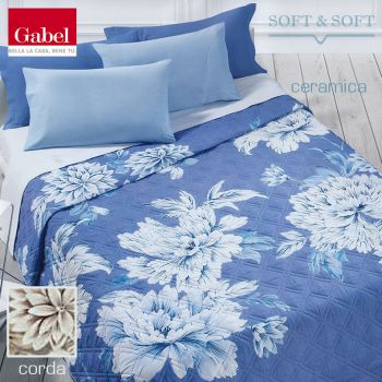 HARMONY Quilted bedcover for double bed Gabel