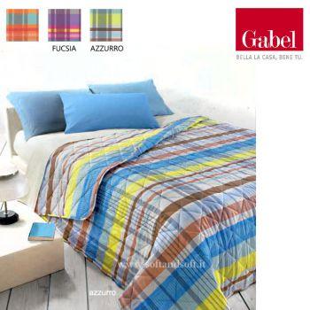 LEADER Quilted Bedcover for Three-quarter beds Gabel