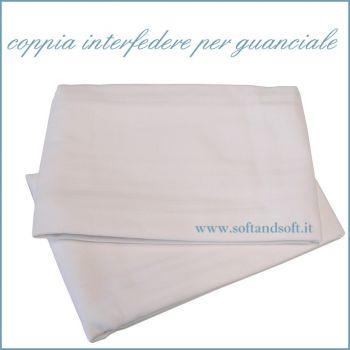 Federe copri cuscino o guanciale con Cerniera (Paio)