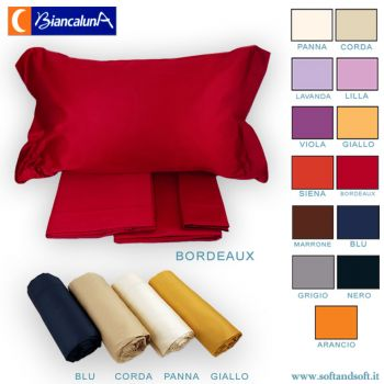 CARDINAL Satin Cotton Sheet Set for Double bed
