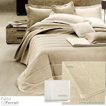 NILO Pure Linen Sheet set for Single Bed