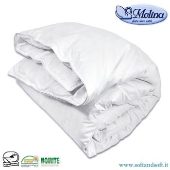 MEDIUM PERCALLE Duvet for single beds 100% Mongolian Eiderdown