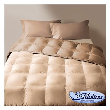 CLASSIC UNITO v.221 Quilt for Single Bed 100% Goose-Down by MOLINA 652106