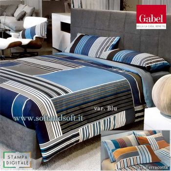 ENDLESS DIGITAL PRINT Duvet Cover Set for Double Bed by GABEL