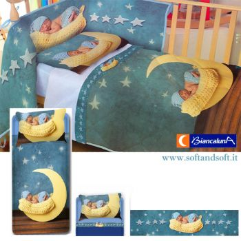 POLY Sheet set for cots by Biancaluna Nursery