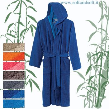 BAMBU' soft Bathrobe - Housecoat made of Bamboo fiber