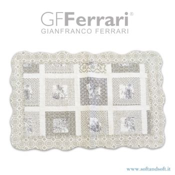 GF21 Patchwork pillowcase in pure cotton GFFerrari