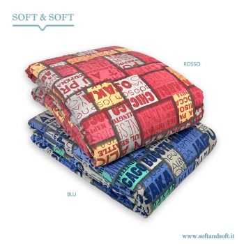MURALES133 Quilt Bedcover Single Bed Pure Cotton Fabric