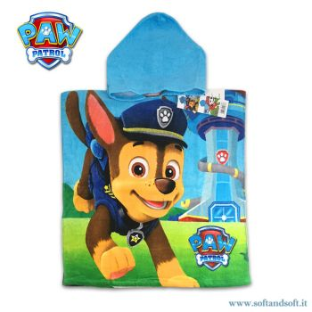 PAW PATROL Baby Accappatoio a Poncho Disney